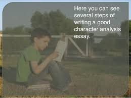 character analysis essay created by essay academycom