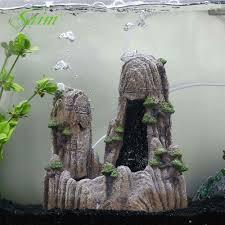 Newest <b>Aquarium</b> Lanscaping Rockery Decoration Simulation <b>Resin</b> ...