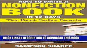 PDF  Get It Done  Write a Cover Letter Popular Collection   Video      PDF  How to Write a Nonfiction book in    Days   The Best Seller Formula  The Non Fiction Success