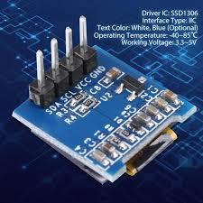 <b>0.49 Inch OLED Display</b> Module SSD1306 Resolution 128*32 I2C ...
