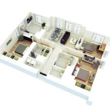 Home Design  D Isometric Views Of Small House Plans Kerala Home    More Bedroom D Floor Plans d Home Design Plans Software Free Download d Home Plan Design