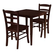 small square kitchen table: winsome groveland square dining table with  chairs  piece
