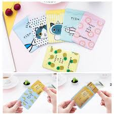 <b>Cartoon PVC Credit Card</b> Protect Holder Business ID Card Bus Card ...