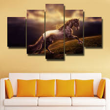 2019 <b>Framed 5 Panels HD</b> Picture Modern Home Wall Decor ...