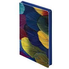 <b>Ежедневник Butterfly Peacock</b>, <b>синий</b>, недатированный
