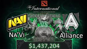 [TI3 Grand Finals] Na'Vi vs Alliance - <b>Game 5</b>/5 - <b>DoTA 2</b> The ...