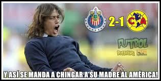Memes Clasico America Vs Chivas 2015 - los memes del chivas vs amà ... via Relatably.com