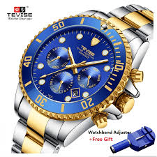 Hot <b>TEVISE Watch Men Luxury</b> Automatic Mechanical <b>Mens</b> ...