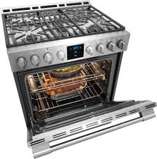 professional kitchen stoves frigidaire professional fpghrf quot gas range stainless steel