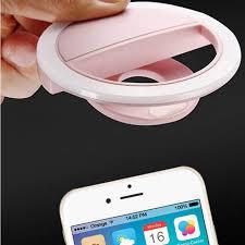 Online Shop FLOVEME <b>Selfie LED Ring Flash</b> Light Portable Mobile ...