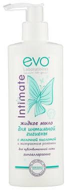 Evo <b>Жидкое мыло для</b> интимной гигиены Intimate для ...