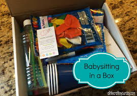 babysitting in a box a little craft in your daya little craft in togetherbox