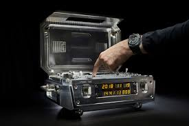 Urwerk AMC atomic clock and watch could sell for <b>seven</b> figures