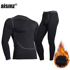Aismz Top Quality <b>New Thermal Underwear</b> Men Quick Drying ...