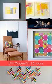 <b>DIY Modern</b> Art 18 Ways ⋆ Dream a Little Bigger