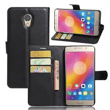 <b>Litchi</b> Flip Wallet Stand <b>PU Leather</b> Case For Lenovo ZUK Vibe P2 ...