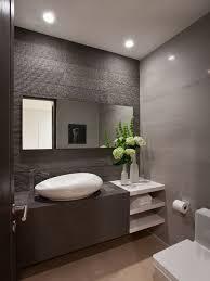 bathroom decor ideas unique decorating: bathroom design white contemporary powder room sinks with unique shape design and modern faucet and