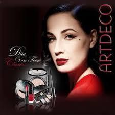 dita von teese artdeco cosmetics clic makeup collection