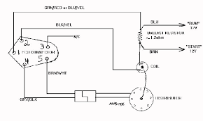 electronic ignition diagramsingle resistor wiring diagrams