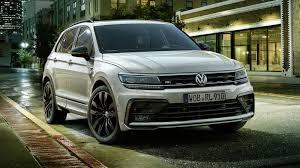 В Европе представлен Volkswagen Tiguan Black Style <b>R</b>-<b>Line</b>