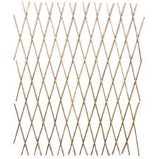 VidaXL <b>5</b> Pcs Extendable <b>Willow Trellis Fence</b> 90x180 Cm Suitable ...