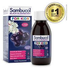 Sambucol for <b>Kids Black Elderberry</b> Small <b>Syrup</b> - 4oz | Sambucol USA