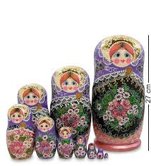 <b>Матрешка Art East</b>, <b>Ксения</b>, 10 Шт, Товары Для Дома Россия