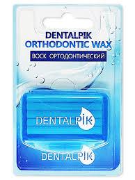 <b>Воск для брекетов</b> Orthodontic <b>Wax</b> Mint, мятный <b>Dentalpik</b> ...