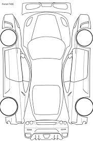 car plan diagram for ptg readings etc    detailing worldheres a ferrari one i made if anyone wants to use