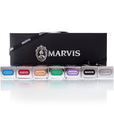 <b>Marvis</b> Gift <b>Set</b> Black - Подарочный <b>набор</b> из <b>7</b> зубных паст по 25 мл