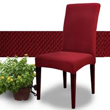 Stretch Dining Room Chair Covers Compare Prices On Red Dining Room Chair Covers Online Shopping