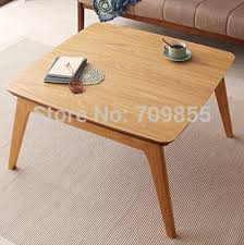 japanese kotatsu solid wood table ash furniture living room foot warmer heated low table 75cm ch177 natural side chair walnut ash