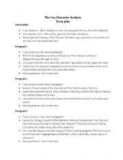 character analysis sample essay   our work character analysis essay on to kill a mockingbird
