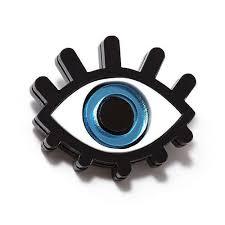 """<b>Брошь</b> """"Глаз <b>голубой</b>"""" бренда <b>Monolama</b> – купить по цене 412 ..."""