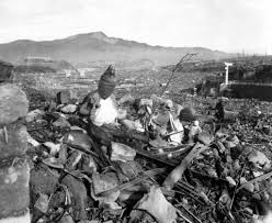 the immediate effects of the atomic bomb on hiroshima and nagasaki nagasaki 24 1945 6 weeks after the atomic bomb attack