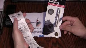 Карандаш для чистки оптики <b>Lenspen MINIPRO</b>-<b>2</b> - YouTube