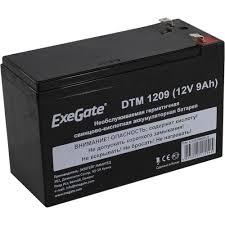 <b>Аккумулятор для ИБП</b> 12V 9Ah <b>Exegate</b> DTM 1209 — купить, цена ...