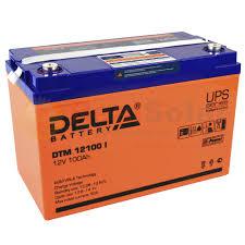 Аккумулятор <b>Delta DTM</b> 12100 I - 12v 100Ah со склада в СПб и с ...