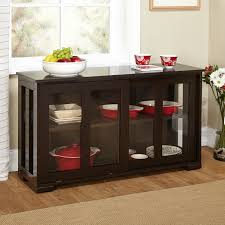 Dining Room Console Cabinets Sideboard Buffet Wells Reclaimed Elm Wood Mirrored Sideboard