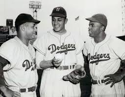 the breakthrough in jackie robinson proved he belonged roy campanella don newcombe and jackie robinson pose together circa 1950 campanella joined the