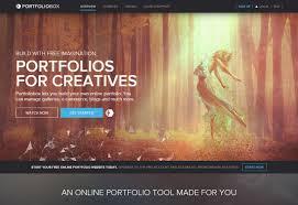 design portfolio sites to help you get discovered portfoliobox