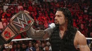 Image result for roman reigns wwe champion