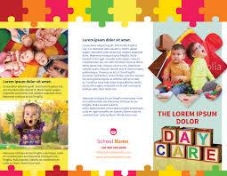 brochure daycare brochure template best of daycare brochure template medium size