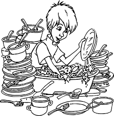 Small Picture Wart Kitchen Coloring Page Wecoloringpage