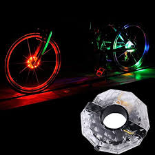 Lufei <b>Cool</b> LED <b>Colorful Cycling</b> Wheel Hub <b>Lights</b> for Safety ...