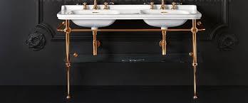 Консоль с <b>раковиной Kerasan</b> Waldorf 9195K2oro 150 <b>напольная</b> ...