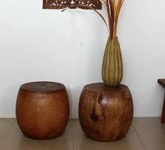 end tables solid wood thai furniture carved teakmonkey podmango carved solid mango wood