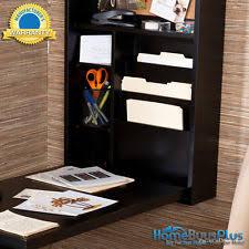 sei ho9291r black fold out convertible desk birch office furniture