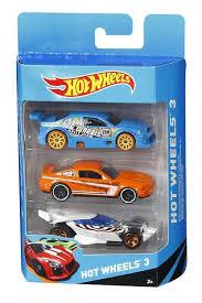 Купить Набор <b>машинок Hot Wheels Mattel</b> K5904, 3 шт с ...