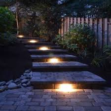 kichler lighting 15744azt27 design pro led 2700k 3 inch hardscape deck step and bench lights with mounting bracket textured architectural bronze finish bench lighting